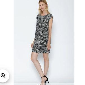 Joie 100% silk Weaver shift dress sz M